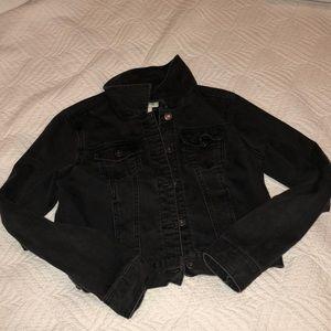 Black Forever 21 jean jacket size L.